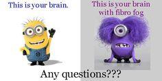 Fibromyalgia.  Haha so true!