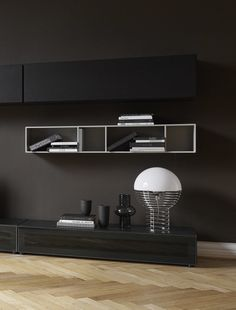 Tv units - Lugano base cabinet with drop-down doors - BoConcept Lugano, Boconcept, Tv Units, Walnut Veneer, Base Cabinets, House Ideas, Drop, Decorating, Luxury