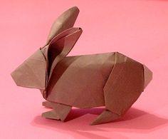 origami rabbit • robert lang