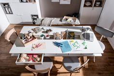 #stół #drewniany #jadalny  #design #jadalny #jadalnia #kuchenny #drewno #nowoczesny #skandynawski #biały #diy #wystrój  #pomysły #VOX #wnętrza