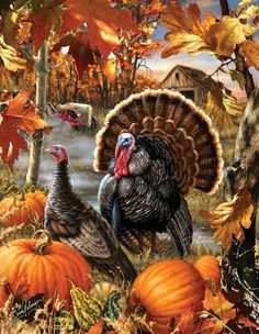 Gobbler Farms Jigsaw Puzzle Gobbler Farms Jigsaw Puzzle 1000 Piece Puzzle - Completed Size: Puzzle Artist: Dona Gelinger Eco-Friendly - Soy-Based Inks - Recycled Board - Made in the USA Interlocking Pieces & Durable Construction Thanksgiving Blessings, Thanksgiving Greetings, Vintage Thanksgiving, Thanksgiving Decorations, Thanksgiving Pictures, Thanksgiving Quotes, Thanksgiving Turkey, Autumn Pictures, Decoupage