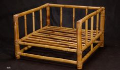 sofa de bambu