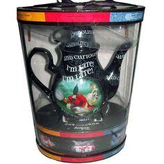 Your WDW Store - Disney Wonderland Tea Pot Set - Alice Mad Hatter - March Hare