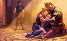 Rapunzel gasta a maior parte do tempo numa torre com o seu amigo camaleão, Pascal, a imaginar como é o mundo. Quando conhece Flynn Rider, os dois partem para uma aventura onde ela finalmente pode realizar os seus sonhos.