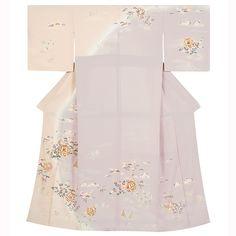 訪問着レンタルH573 Japanese Kimono, Japanese Art, Bell Sleeves, Bell Sleeve Top, Kimono Top, Cold Shoulder Dress, Formal, Tops, Dresses