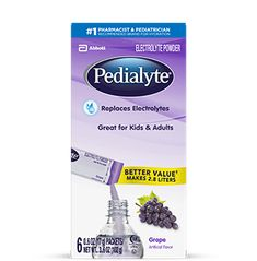 Pedialyte Electrolyte Powder, Strawberry Lemonade, Electrolyte Hydration Drink, oz Powder Packs, 18 Count - Compare and Shop The Best Stuff Rehydration Drink, Electrolyte Drink, Fluid And Electrolytes, Hydrating Drinks, Sports Drink, Strawberry Lemonade, Product Label, Lactose Free, Food Allergies