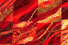 Hot Quilts from Cold Scraps - Bushfire