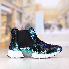 Pantofi Casual Dama Albastru Verde Cod: 336p Rubber Rain Boots, Casual, Shoes, Fashion, Green, Moda, Zapatos, Shoes Outlet, Fashion Styles