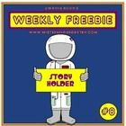 This week's FREEBIE is from an upcoming title of story holders that will feature all kinds of careers (Farm Animal Story Holders are already availa. Space Activities, Science Activities, Kindergarten Literacy, Literacy Centers, Teacher Education, Earth From Space, Fire Safety, Writing Poetry, Space Theme