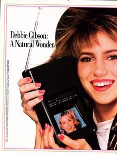 80s Pop, Debbie Gibson, Women In Music, Island Girl, Vintage Music, Mariah Carey, Natural Wonders, Vintage Advertisements, Mascara