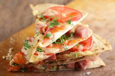 Healthy Snacks For Teens - Mexican Tortilla Pizza