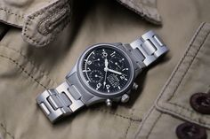 356 PILOT - The traditional chronograph with acrylic glass. Dream Watches, Casio Watch, Chronograph, Watches For Men, Pilot, Barbers, Traditional, Glass, Accessories