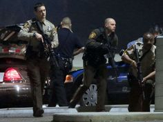 Two police officers shot during night of protests in Ferguson
