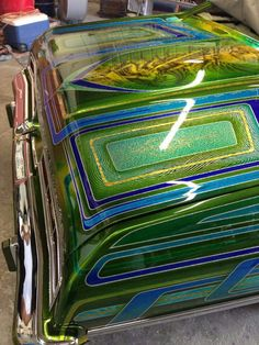 Lace Painting, Air Brush Painting, Painting Patterns, Custom Motorcycle Paint Jobs, Custom Paint Jobs, Car Paint Jobs, Auto Paint, Candy Paint, Lowrider Art