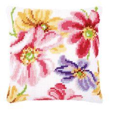 Front Cushion: Floral Design #1