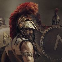 """Justinian the Great or Narses, :) Promotional key artwork& loading screen prepared for """"Total War: Attila"""" Male Angels, Greek Soldier, Ancient Armor, Roman Warriors, Greek Warrior, Art Station, Amazing Sunsets, Medieval Fantasy, Ancient Greece"""