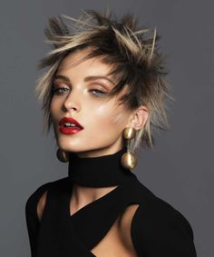Australian Hairdresser of the Year Finalist - Frank Apostolopoulos | See the entire #hair #collection at SalonMagazine.ca