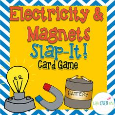 Learn about electricity and magnets while playing this slap-jack style game for partners or small groups. $