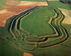 An Iron Age hill fort kilometres mi) south west of Dorchester. Hill forts were fortified hill-top settlements constructed across Britain during the Iron Age. Ancient Art, Ancient History, Dorset Coast, Celtic Culture, Celtic Art, Iron Age, Ancient Architecture, British History, Fortification
