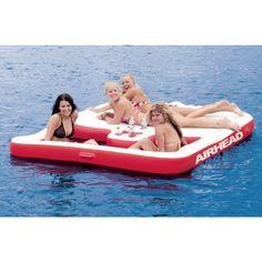 Cool Island Inflatable Lake Float