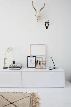 Dressoir decoratie inspiratie   Éénig Wonen   Bloglovin'