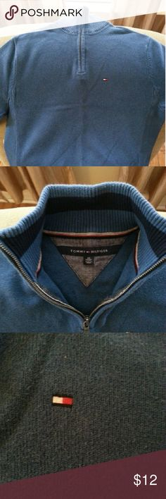 TOMMY HILFIGER zip up sweater Big boys or Men's zip up sweater size xs tp/xp. Fits like big boys large, x large or Men's small. Tommy Hilfiger Shirts & Tops Sweaters
