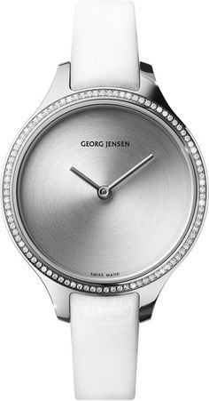 Georg Jensen Watch Concave #basel-15 #bezel-diamond #bracelet-strap-leather #brand-georg-jensen #case-depth-7-3mm #case-material-steel #case-width-39mm #delivery-timescale-call-us #dial-colour-silver #gender-ladies #luxury #movement-quartz-battery #new-product-yes #official-stockist-for-georg-jensen-watches #packaging-georg-jensen-watch-packaging #style-dress #subcat-concave #supplier-model-no-3575572 #warranty-georg-jensen-official-2-year-guarantee #water-resistant-30m