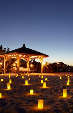 Picture perfect romantic setting in Turks and Caicos.