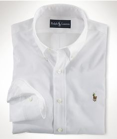 Polo Ralph Lauren Men Shirt in White