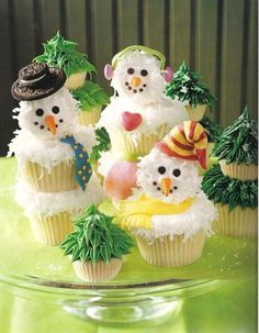 Frosting+The+Snowmen+by+~christmas-cupcakes+on+deviantART
