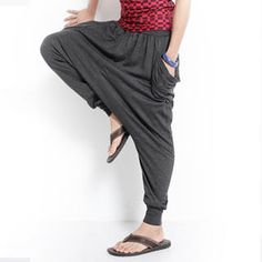 Buy 'OBI YUAN – Harem Pants' at YesStyle.com plus more Taiwan items and get Free International Shipping on qualifying orders.  I want it in black