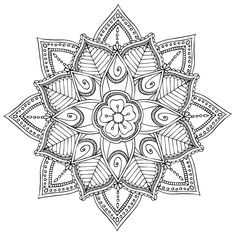 Mandala designs for coloring on Behance