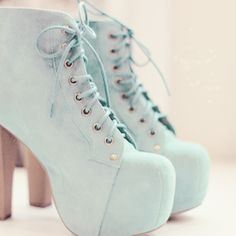 my edits cute fashion heels shoes kawaii Boots pastel kfashion ...