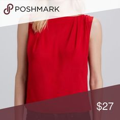 """Alice + Olivia """"Gladys"""" red silk top SHIPS FREE Gorgeous red top. Sadly reposhing, too small for me! Non smoker. Ships free, just offer $7 less and I will accept! Alice & Olivia Tops Tees - Short Sleeve"""