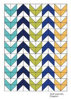 Deka vzor, vzor, trojúhelník přikrývka Quilt šíp, dvojče přikrývka vzor…