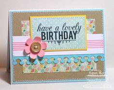 Lovely Birthday card by Karen Motz