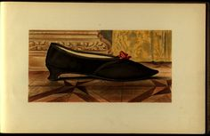 From: T. Watson. Greig Ladies' old-fashioned shoes , 1885