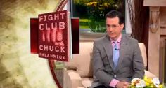 Remember the first rule of book club: don't read Fight Club.