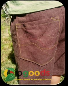 Hemp Toddler Shorts Sizes 12 months to 8 years by IOGoods on Etsy, $26.00