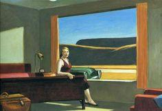 [Painting#9] Western motel - Edward Hopper (1957)