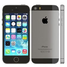 Unlocked Apple iPhone 5s 16GB Space Gray AT&T Smartphone Read Description [#60]