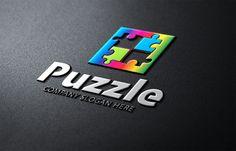 Puzzle Logo by Creative Dezing on @creativemarket