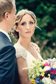 Beautiful bride Zoe. By @Dottie McDonald Photography , makeup by Moi.