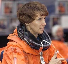 EILEEN COLLINS astronaut and first female space shuttle commander