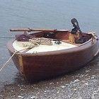 Barque en Accajou De 1964