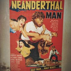 Neanderthal Man movie poster 1953