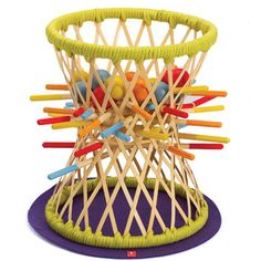 Pallina.   Be careful when pulling out these sticks! With Pallina you need a very sensitive touch and thoughtful strategy. Excitement and challenge awaits young players! Winner of the 2011 Creative Child Preferred Choice Award. Available at Smith Galleries on Hilton Head Island.