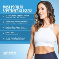 FitnessOnDemand posted on LinkedIn Most Played, Public Profile, Delpozo, Most Popular, Upper Body, Hiit, Workout Videos, Pilates