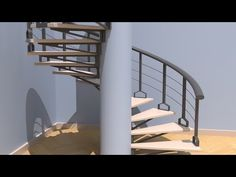 Luxology modo - Modeling a Spiral Stair - YouTube