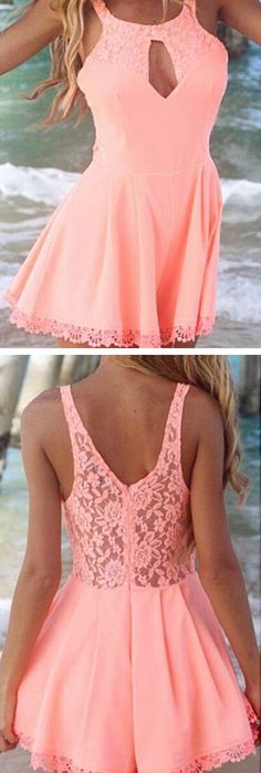 Lace Hollow Skirt Jumpsuit ♥